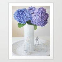 a touch of shabby chic Art Print