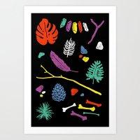 Organisms Art Print