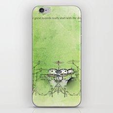 Jazz Drums iPhone & iPod Skin