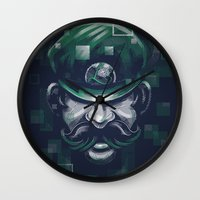 Depixelization L Wall Clock