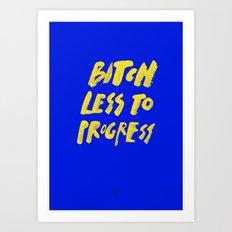 PROGRESS / The Other Version Art Print