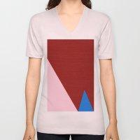 Blue Triangle Unisex V-Neck