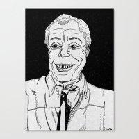 james baldwin. Canvas Print