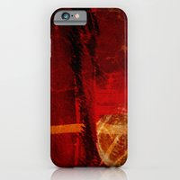 Abstract Red Light iPhone 6 Slim Case