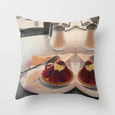 The Tart Throw Pillow