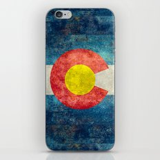Colorado flag iPhone & iPod Skin