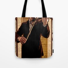 Art Nouveau: The Violinist Tote Bag