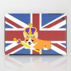 Crown Corgi iPad Case