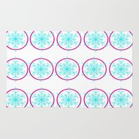 Dream-catching a Snowflake Rug