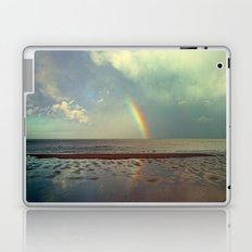 Rainbow Over Sea Laptop & iPad Skin