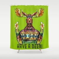 Have a Beer Shower Curtain