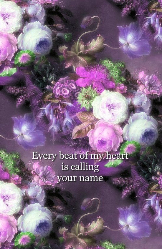 Every Beat of My heart is Calling Your Name Art Print