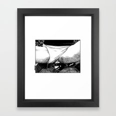 asc 499 - La bonne prise (A strong grip) Framed Art Print