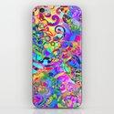 Kaleidoscope Fantasy iPhone & iPod Skin