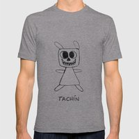 TACHÍN!! Mens Fitted Tee Athletic Grey SMALL