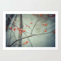 Berries. Art Print