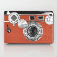 Tangerine Tango Retro Vi… iPad Case