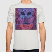 Tree G Mens Fitted Tee Silver SMALL