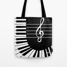 Piano Keys II Tote Bag