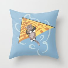Hang (glide) in There Throw Pillow
