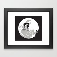 Dib and the E.T Framed Art Print