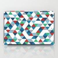 Triangles #3 iPad Case