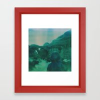 Wanderlust In Polaroid Framed Art Print