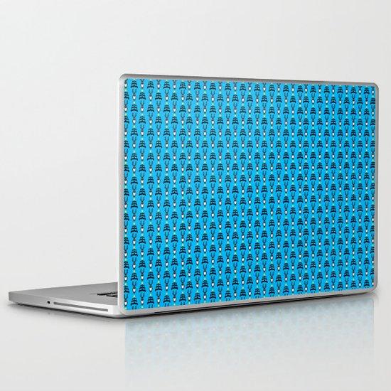 deers n' trees christmas pattern V.2 Laptop & iPad Skin