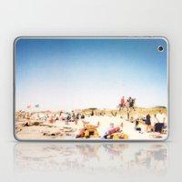 New York Summer at the Beach #1 Laptop & iPad Skin