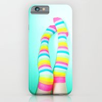 iPhone & iPod Case featuring Rainbow Legs by Christine Leanne