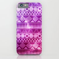 Tribal Fuschia.  iPhone 6 Slim Case