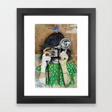 little moments Framed Art Print