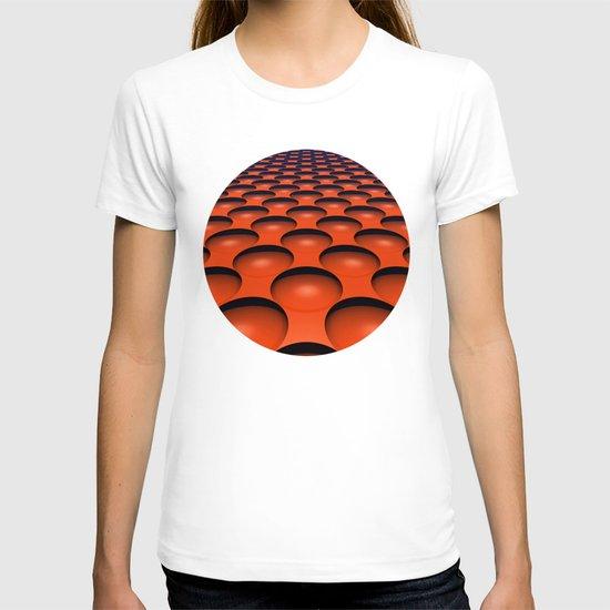 Orange Dimples T-shirt