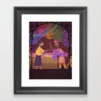 Silk Trade Framed Art Print
