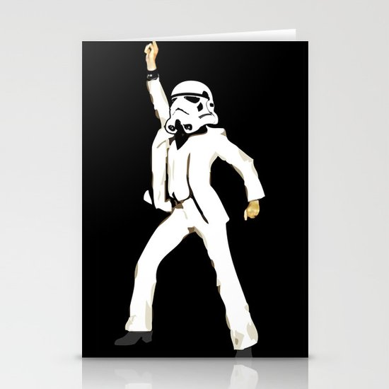 saturday night trooper _ star wars Stationery Card