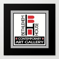 Bethlehem House Contemporary Art Gallery Canvas Print