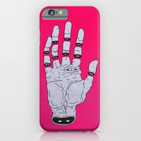 iPhone Cases featuring THE HAND OF ANOTHER DESTYNY by MRCLV / UNDEAD