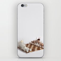 Cookies and Milk Chess Set iPhone & iPod Skin