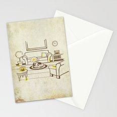 Greed - Mine, mine, all mine Stationery Cards