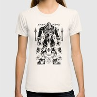 Legend of Zelda Ganondorf the Wicked Womens Fitted Tee Natural SMALL