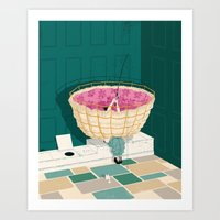 Johns Hopkins Privy Art Print