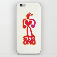Strong! iPhone & iPod Skin