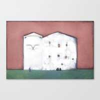 The Big House Canvas Print