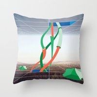 Holodeck Throw Pillow