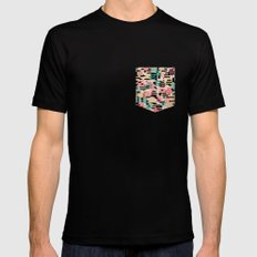 blending mode SMALL Black Mens Fitted Tee
