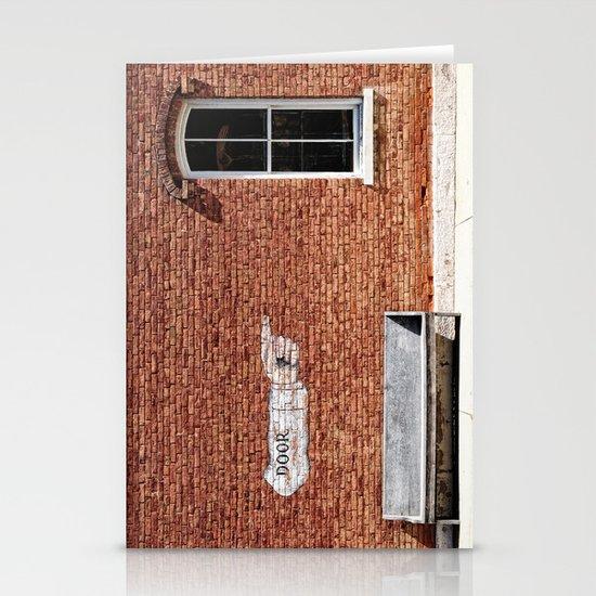 NO.... Window! Stationery Card