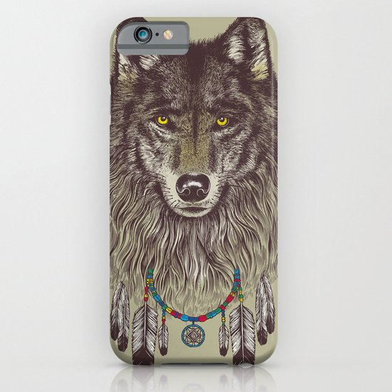 Wind Catcher Wolf iPhone & iPod Case