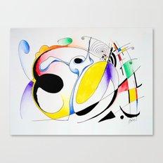 Shapes-1 Canvas Print