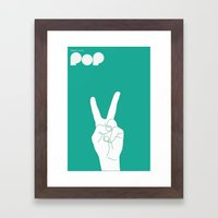 Music Signs : Pop (1/3) Framed Art Print