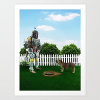 So, there it is! Art Print